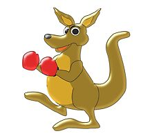 Boxing Kangaroo Design by biglnet