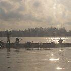 6am on the Ton Le Sap River, Phnom Penh, Cambodia by John1959