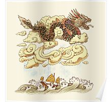 Prevailing Dragon Winds Poster