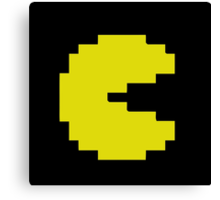 Mr Pacman and Ms Pacman couple Canvas Print