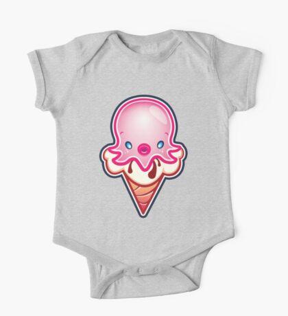 Octopus Ink Ice Cream One Piece - Short Sleeve