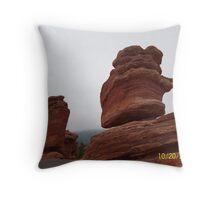 Garden of the Gods, Balancing Rock Throw Pillow