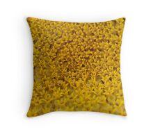 Sunflower Detail Throw Pillow