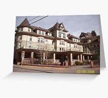 Cliff House, Manitou Springs Greeting Card