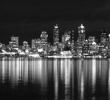 Downtown Seattle  by Chris Filer
