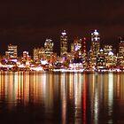 Downtown Seattle by Chris Filer
