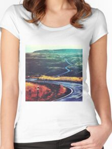 Speed of Light Women's Fitted Scoop T-Shirt