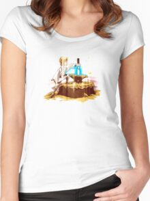 A New King Women's Fitted Scoop T-Shirt