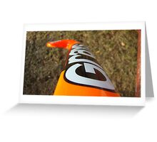 Field Hockey Stick Greeting Card