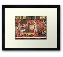 South Indian Movie Poster! Framed Print