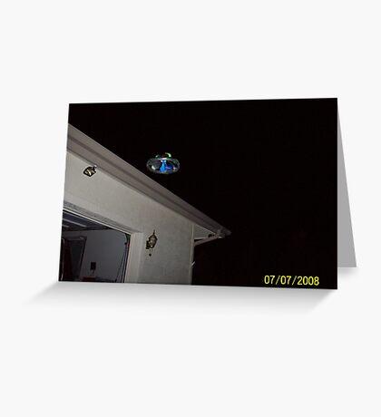 Flying Saucer, Prescott, Arizona Greeting Card
