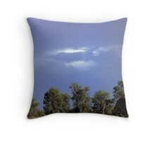 Mungo skies Throw Pillow
