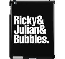 Ricky Julian Bubbles iPad Case/Skin