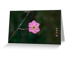 The First Colors of Spring Greeting Card