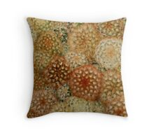 Cozy Crowded Cacti Throw Pillow