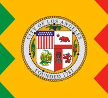 Los Angeles City Flag Sticker