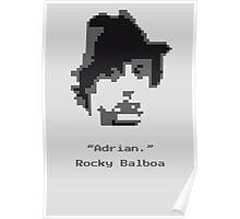 8-Bit Balboa Poster