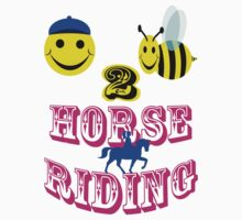 happy 2 bee horse riding by gruntpig