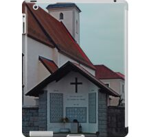 The village church of Waldburg II | architectural photography iPad Case/Skin
