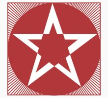 Revolutionary Pentacle Series: Red Star by Zehda