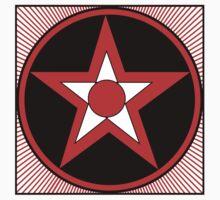 Revolutionary Pentacle Series: Bulls Eye Star by Zehda