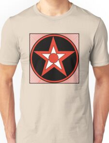 Revolutionary Pentacle Series: Bulls Eye Star Unisex T-Shirt