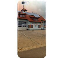 The firestation of Waldburg | architectural photography iPhone Case/Skin