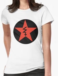 Revolutionary Pentacle Series: Jagged Arrow Pentacle Womens Fitted T-Shirt