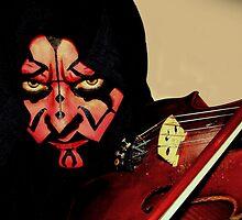 Evil Violinist by Maria Dalinger