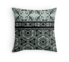 Art Deco-ration (Mint) Throw Pillow