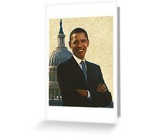 New Face of America Greeting Card