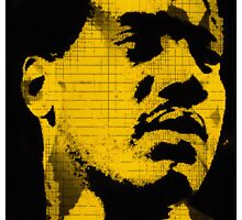 OTIS REDDING-POP ART by OTIS PORRITT