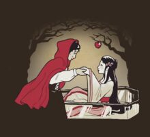 Red Riding Hood and Snow White by sqbr