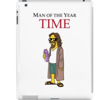 Dude of the year. iPad Case/Skin