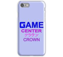 Sailor Moon Crown Arcade  iPhone Case/Skin