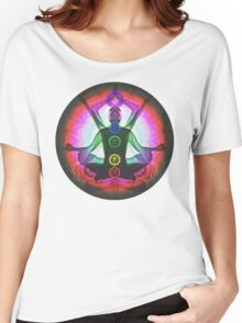 Meditation & the Chakras II Women's Relaxed Fit T-Shirt