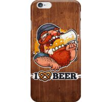 Man Loves Beer iPhone Case/Skin