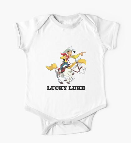 Lucky Luke One Piece - Short Sleeve