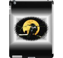 Full Moon Shining ~ Black Crow iPad Case/Skin