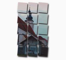 The village church of Waldburg II | architectural photography Kids Clothes