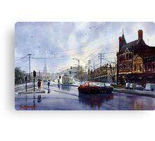 Clifton Hill, Melbourne Canvas Print