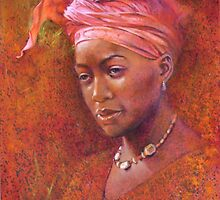 'Pink Turban' by Pauline Adair