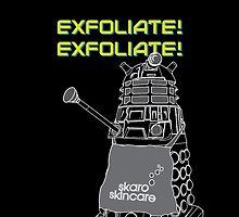 Exfoliate by samedog