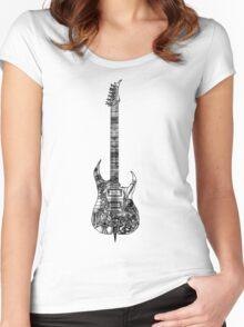 n.y.c guitar Women's Fitted Scoop T-Shirt