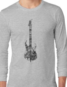 n.y.c guitar Long Sleeve T-Shirt