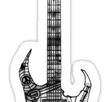 n.y.c guitar Sticker