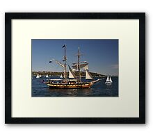 Windeward Bound, Sydney Harbour, Australia 2013 Framed Print