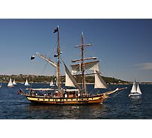 Windeward Bound, Sydney Harbour, Australia 2013 Photographic Print
