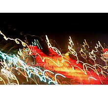 Dancing Lights Photographic Print