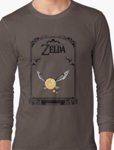 Zelda legend - Fairy Navi doodle Long Sleeve T-Shirt